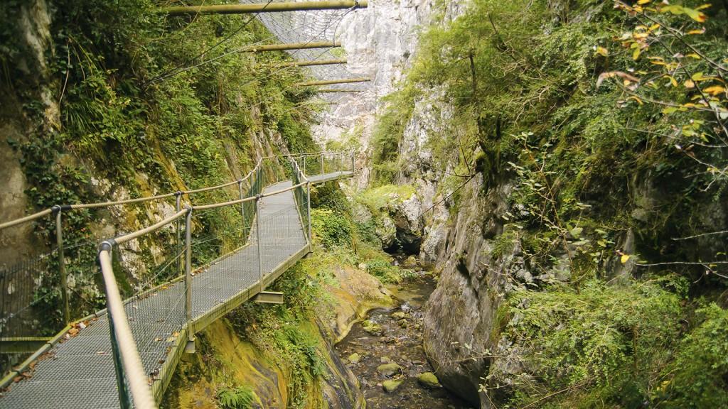 Gorges de la Fou Pyrénées Orientales