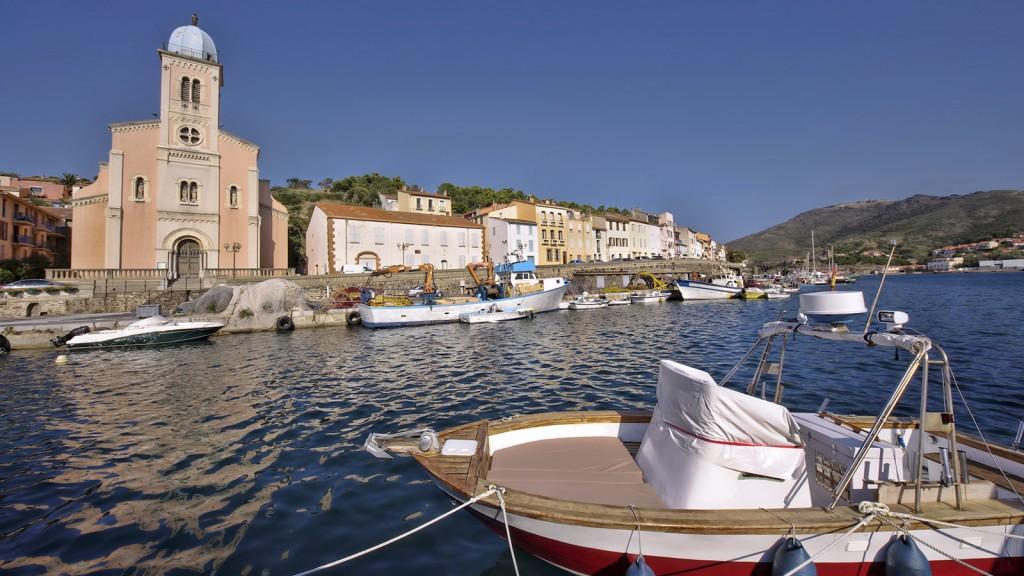 Port Vendres Pyrénées Orientales