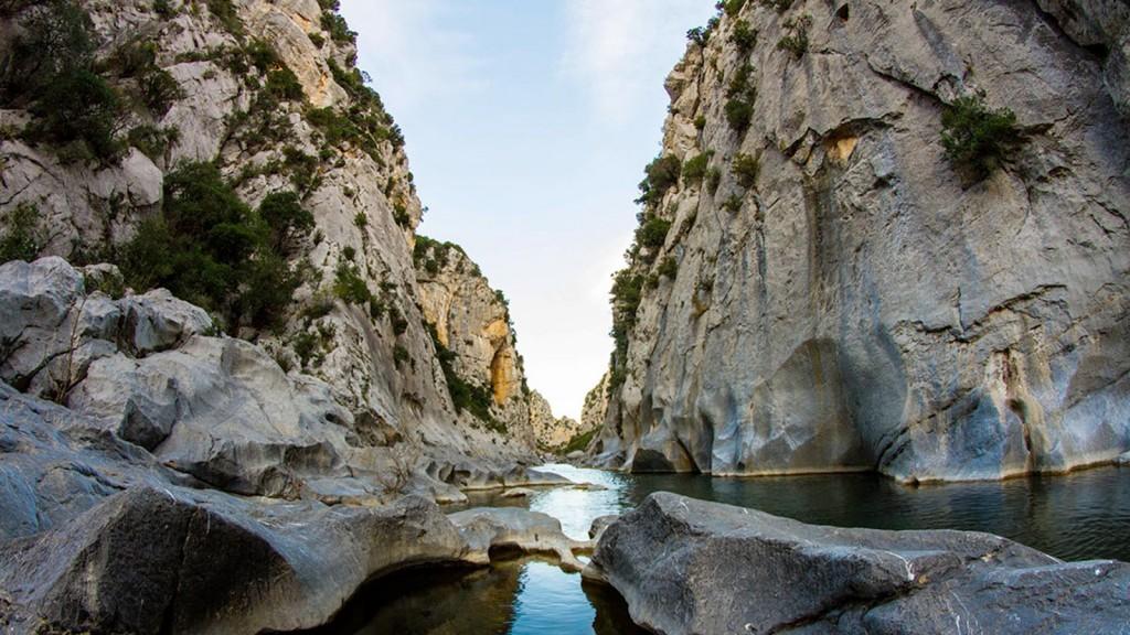 Gorges de Gouleyrous Tautavel Pyrénées Orientales