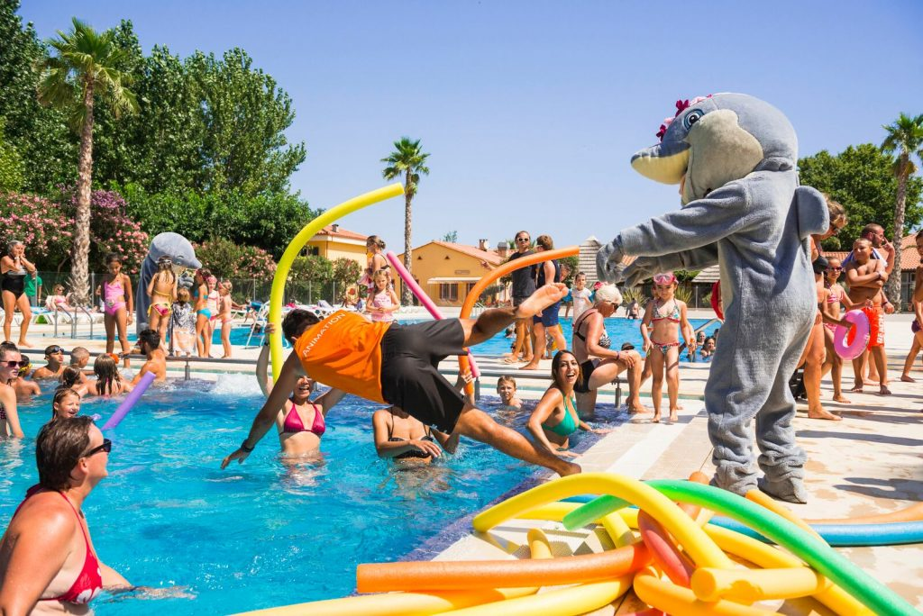 camping argeles animation le dauphin 12