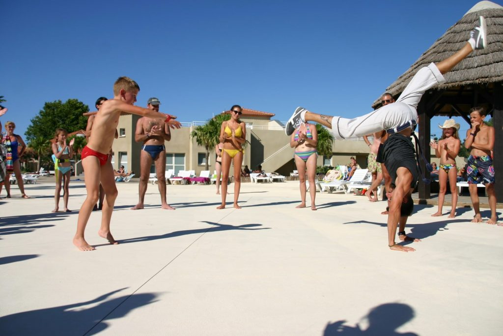 camping argeles sport animation le dauphin