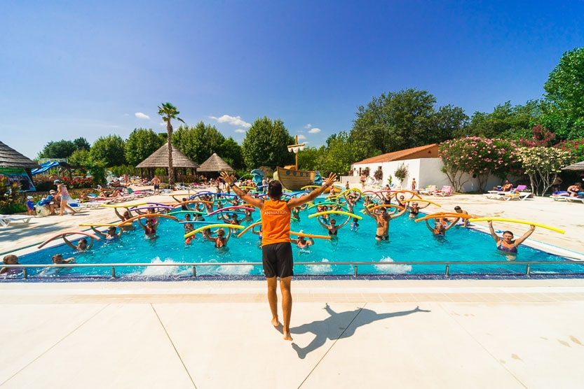 aquagym camping argeles le dauphin