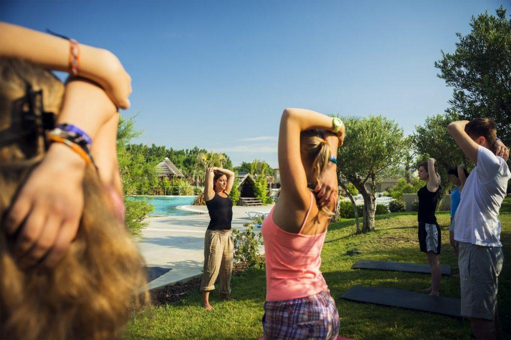 Cours de Yoga Camping Argeles