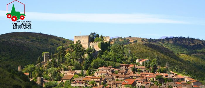 castelnou visite village de france||||