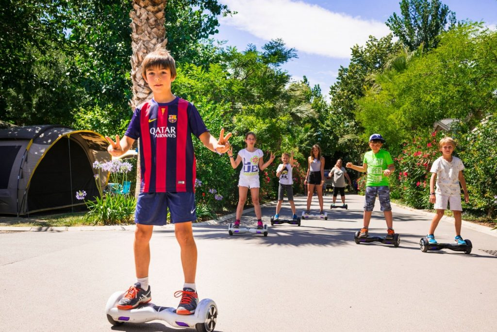 hoverboard camping argeles