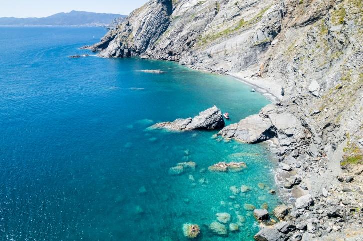 sentier du littoral randonnée vue mer argeles