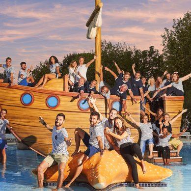 Das Team vom camping Le Dauphin