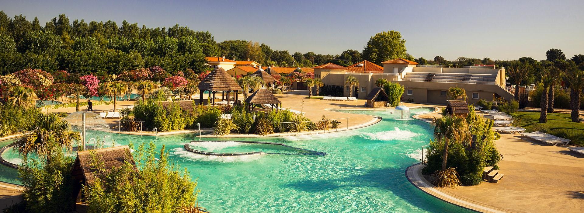 Camping argeles avec parc aquatique le dauphin - Camping argeles sur mer avec piscine ...