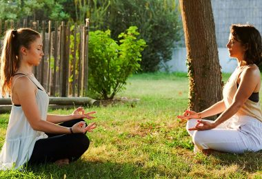 femmes yoga