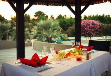 table romantique