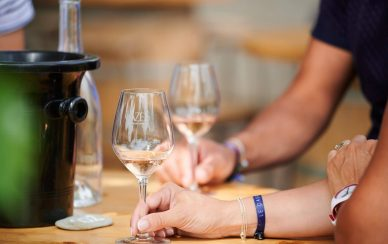 verres vin degustation cazes