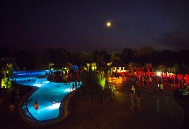 soirée parc aquatique