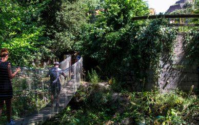 pont suspendu laroque