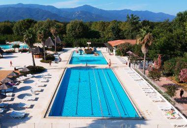 vue piscine hauteur camping
